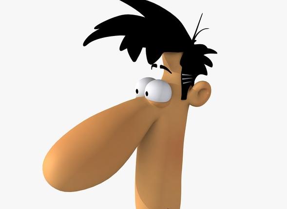 big nose grote neus