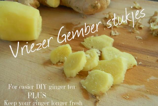 how to make ginger tea 015