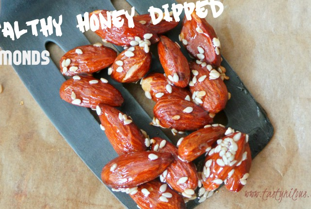 honeysesamealmonds